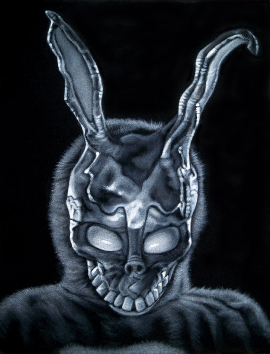 donnie darko frank black velvet painting