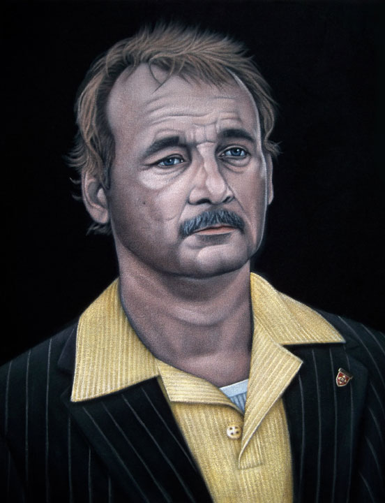 velvet painting bill murray