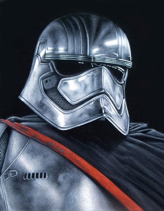 star wars blackvelvet painting