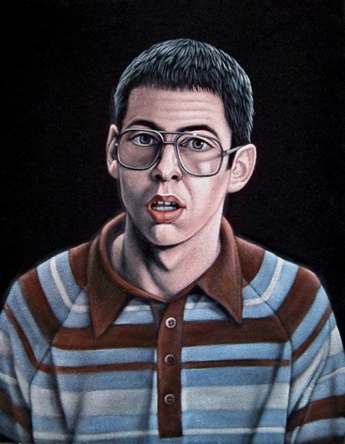 bill velvet painting freaks geeks