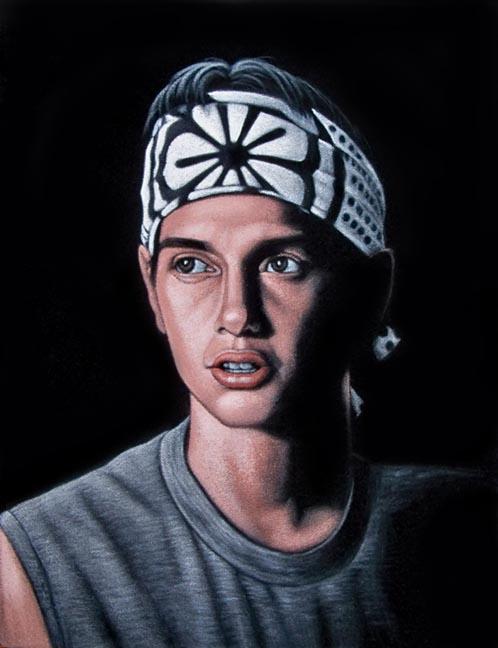 velvet painting karate kid cobra kai ralph macchio