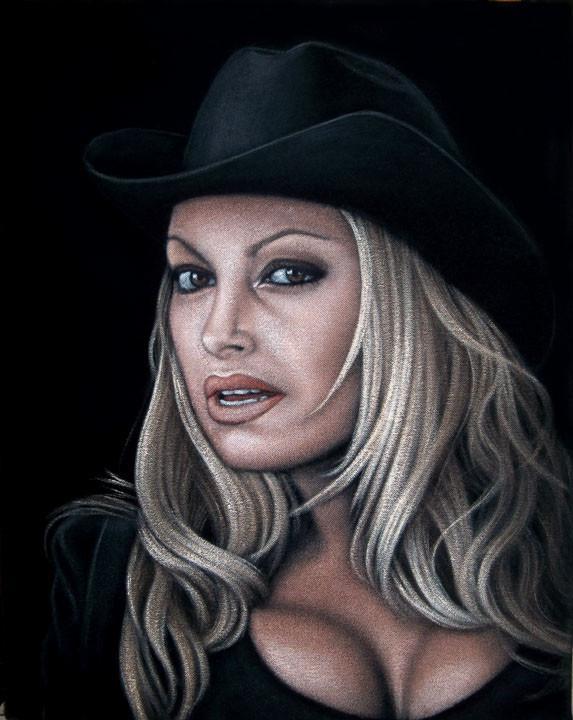 wwe velvet painting