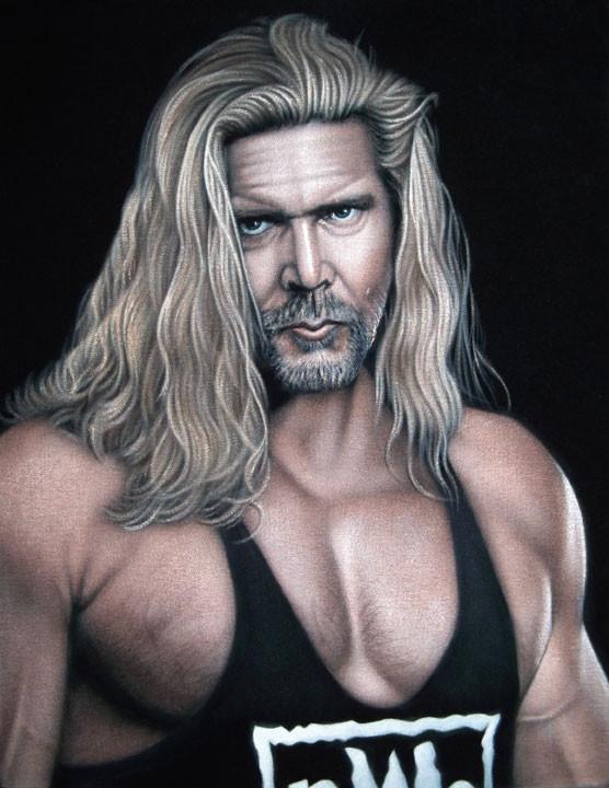 WWE Kevin Nash velvet painting