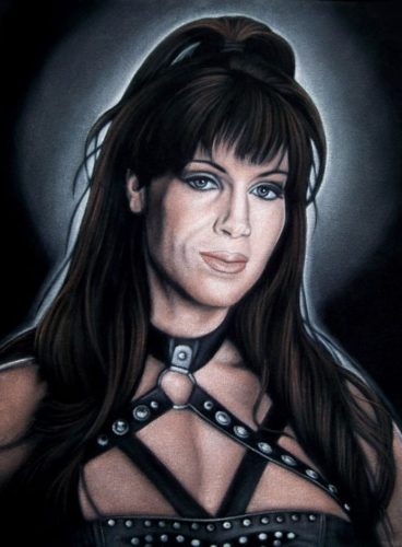 Chyna-black-velvet-painting-wwe