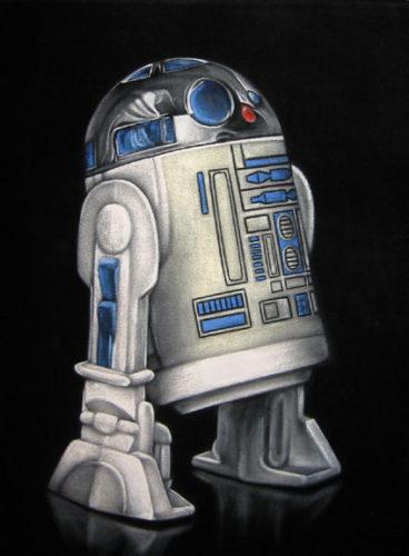 artoo velvet painting