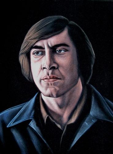 velvet painting Anton