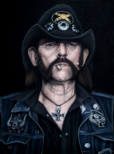 velvet painting Lemmy