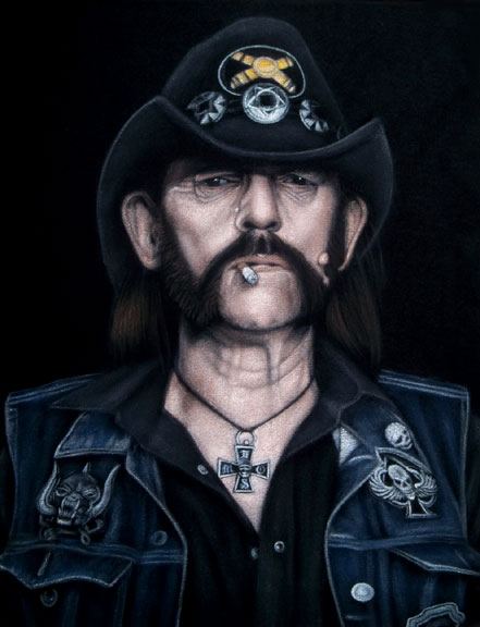 velvet painting Lemmy