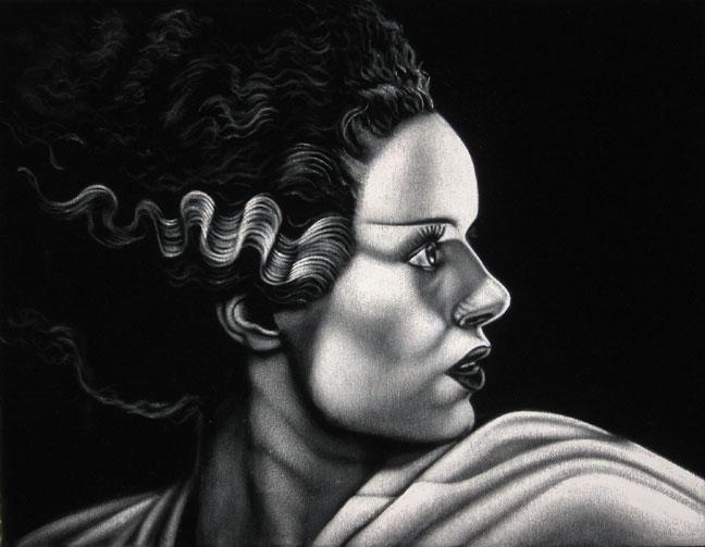 bride-black-velvet-painting
