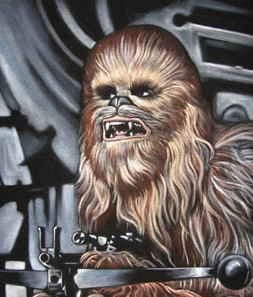 chewie-black-velvet-painting-2