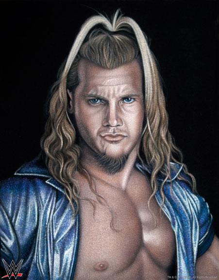 Jericho velvet painting print