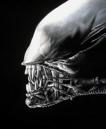 velvet painting alien