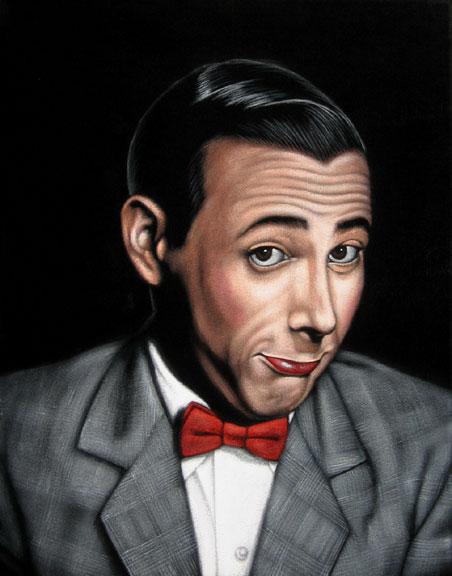 velvet painting pee wee herman