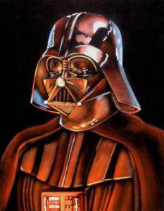 velvet painting vader bespin star wars