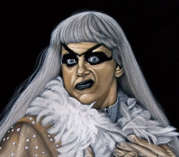Goldust-black-velvet-painti