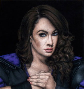 Jax-black-velvet-painting-wwe-2