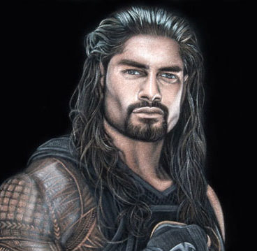 Roman-black-velvet-painting-wwe-2