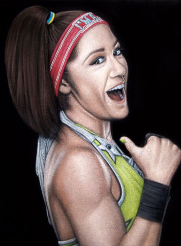 Bayley velvet painting