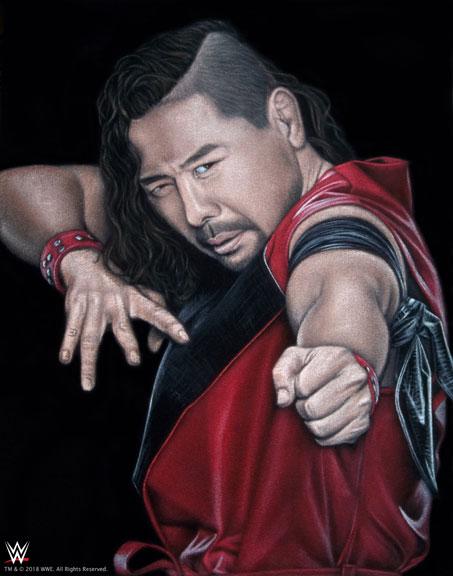 Nakamura velvet painting print