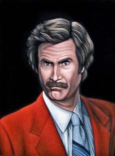 ron-burgundy-will-ferrell--black-velvet-painting
