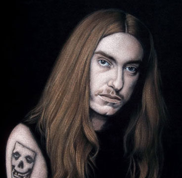 Cliff-2-velvet-painting