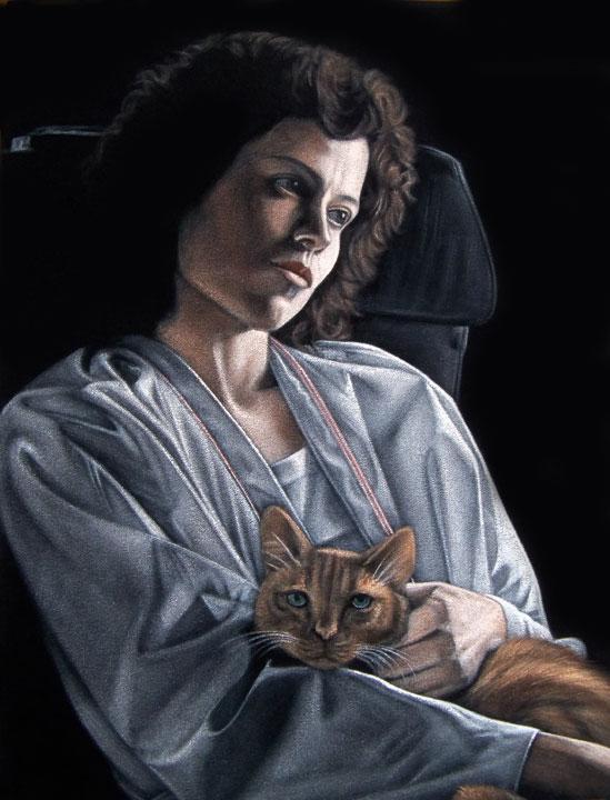 Ripley-black-velvet-painting