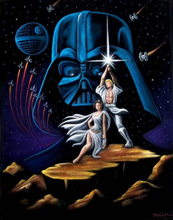 vintage-star-wars-velvet-painting