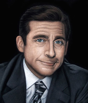 Michael-Scott-black-velvet-painting-2