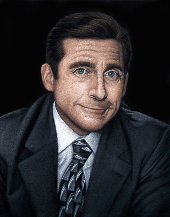 Michael-Scott-black-velvet-painting